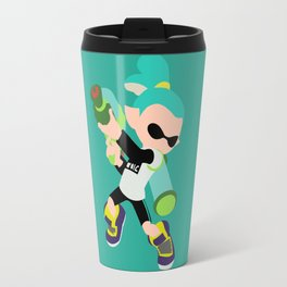 Inkling Boy (Aqua) - Splatoon Travel Mug