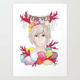 Cori Art Print