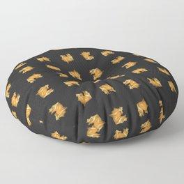Floating Physalis Fruit Floor Pillow