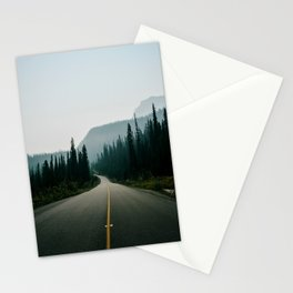 Road trip to the mountains Stationery Cards