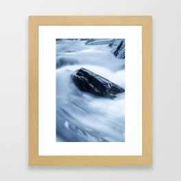 Cloud Falls Framed Art Print