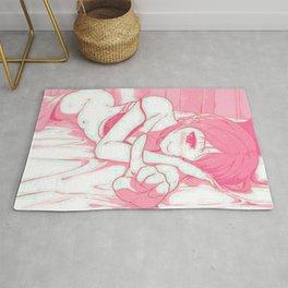 Sexy anime aesthetic - Good morning Rug