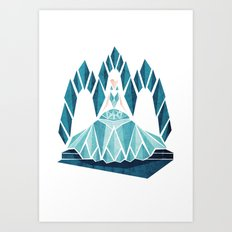 Waiting ( The Snow Queen ) Art Print