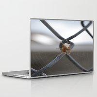 spider Laptop & iPad Skins featuring Spider by Labartwurx