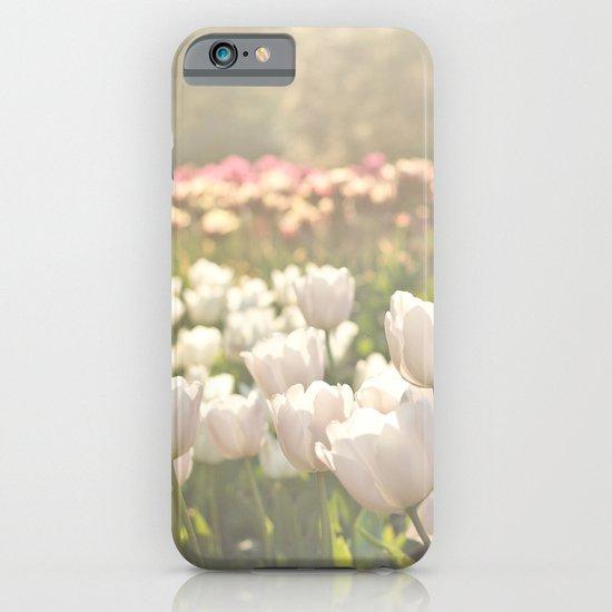 Tulips sunbathed iPhone & iPod Case