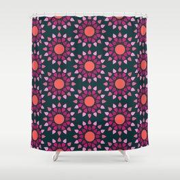 MCM Hydrangea Shower Curtain
