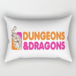 D&D All Nighter Rectangular Pillow