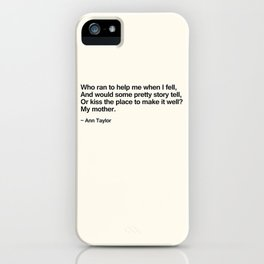 Mothers Day III iPhone Case