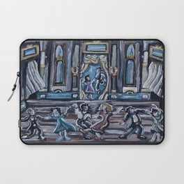 Swing Dancing Hall of the 1940s Laptop Sleeve