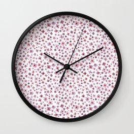Macro #3 -Butterfly Bush Wall Clock