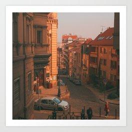Budapest I Art Print