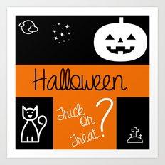 halloween! Art Print