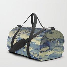 Shadows in Blue and Cream, Marble Duffle Bag