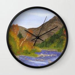 Ausable River Adirondack Park, NY Wall Clock