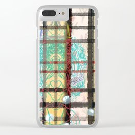 Floss Clear iPhone Case