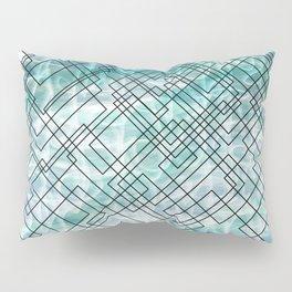 Square Waves Pillow Sham