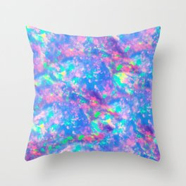The Opal Throw Pillow