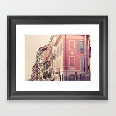 Houses of Milan, Italy Framed Art Print