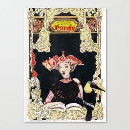 Purdy Lady Canvas Print