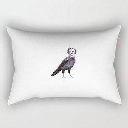 Edgar Allan Crow Rectangular Pillow