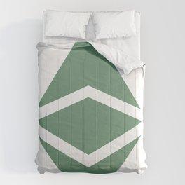 Ethereum Classic (ETC) Logo Comforters