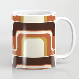 Mid-Century Modern Meets 1970's Coffee Mug