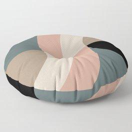 Contemporary Composition 33 Floor Pillow