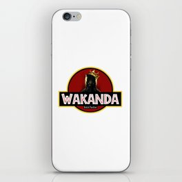 wakanda black panther iPhone Skin