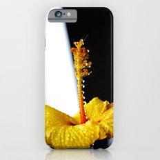 Wet Hibiscus iPhone 6s Slim Case