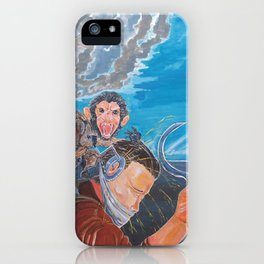 The Massacre of Reflections iPhone Case
