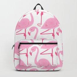 Pink flamingos Backpack