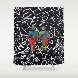 Genderqueer Shower Curtain