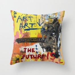 NYC Art Art Throw Pillow