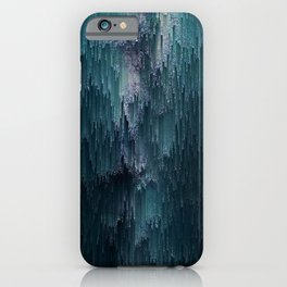 Frost Glitches iPhone Case