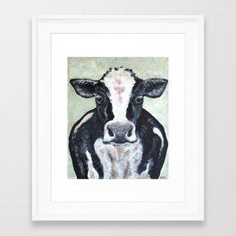 Holstein Cow Framed Art Print