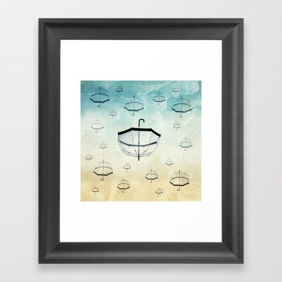 wishing for rain Framed Art Print