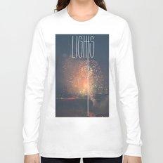 SKY LIGHTS Long Sleeve T-shirt
