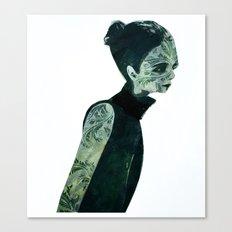 pin-turns Canvas Print