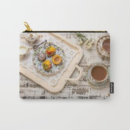 Tea cups and fruit tarts Carry-All Pouch