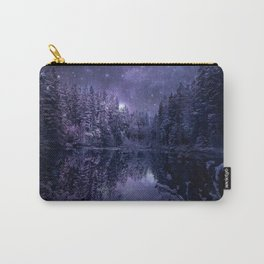 A Cold Winter's Night Carry-All Pouch