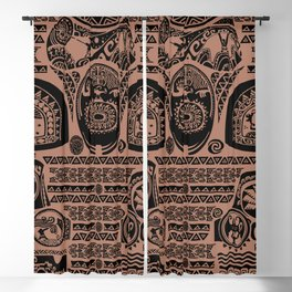 Maui Tattoos Inspired Moana Blackout Curtain