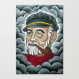 Old Sailor Canvas Print