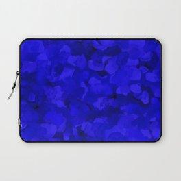 Rich Cobalt Blue Abstract Laptop Sleeve
