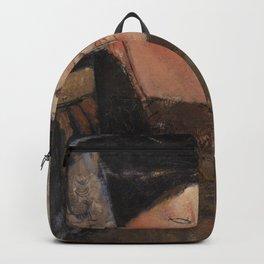 Amedeo Modigliani - Béatrice (Portrait de Béatrice Hastings).jpg Backpack
