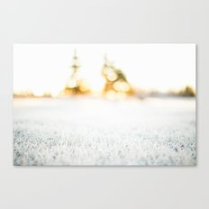 Frosty Sunrise Canvas Print