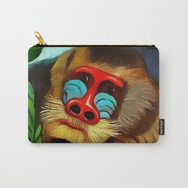 "Henri Rousseau ""Mandrill in the Jungle"", 1909 Carry-All Pouch"