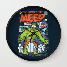 Incredible Meep Wall Clock