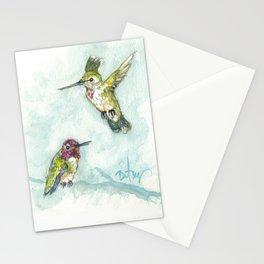 Anna's Hummingbirds Stationery Cards
