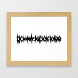 The Carraways Sound bite Framed Art Print