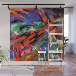"""Franz Marc """"The fate of the animals"""" Wall Mural"""